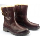Camel Active boots OUTBACK 817.74.02 wine red leather   WOOL LINED