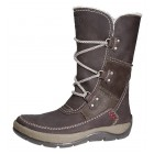 Camel Active medium long boots ALASKA 707.12.01 brown leather WOOLLINED