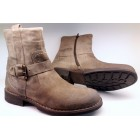Camel active 269.13.01 oil-suede ankle boots for men sand beige