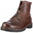 Camel Active 274.11.01 ranger leather ankle boots for men brown