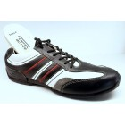 Camel Active 137.16.01 black white combi leather