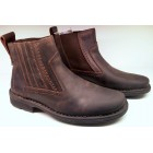 Camel Active ankle boots 194.14.01 mocca nubuck