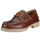 Camel active 121.11.01 pull up chestnut leather