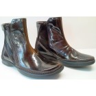 Camel Active ankle boots 213.16.01 brown patent leather