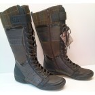 Camel Active 215.14.02 grey black brown long boots for women