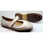 Camel Active flats 7.386.31 off white leather