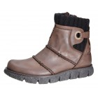 Camel Active ankle boots 704.13.01 brown vintage leather     WARM LINED