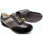 Camel Active 137.12.03 black grey suede and leather