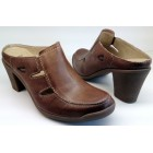 Camel Active clog slippers 785.13.01 brown leather
